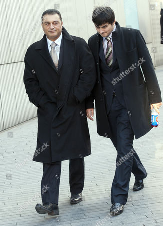 Ali Dizaei Left Former Met Police Commander Appearing At Southwark Crown Court..03.02.12.
