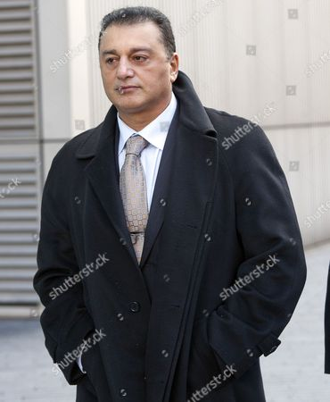Former Metropolitan Police Commader Ali Dizaei Appearing At Southwark Crown Court..03.02.12.