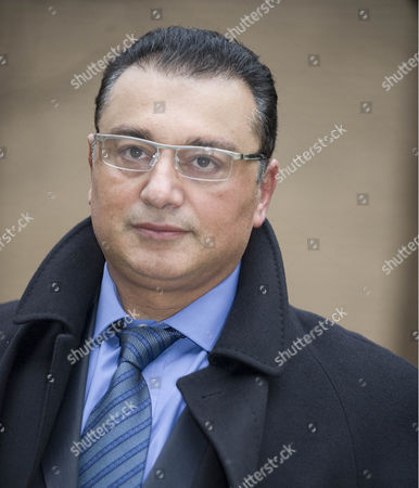 Ali Dizaei Leaves Southwark Crown Court 9.2.12