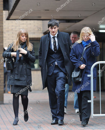 Editorial picture of Koroush Dizaei The Son Of Ali Dizaei Leaving Southwark Crown Court This Afternoon. Stephanie Schaerer 00447878466804.