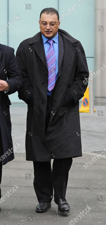 Scotland Yard Commander Ali Dizaei Arrives At Southwark Crown Court This Morning While The Jury Is Considering Their Verdict.