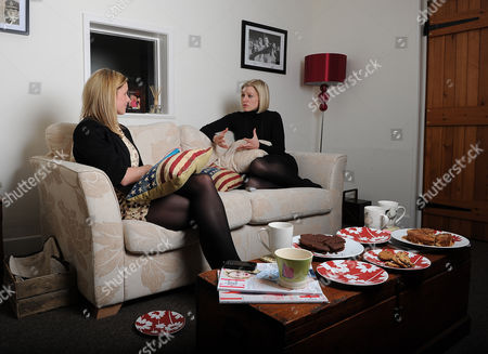 Rebecca Lowe (r) Espn Football Television Presenter At Home In Wiltshire. Interview By Laura Williamson