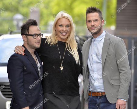 Jordan Poulton, Francesca MacDuff-Varley and Neil Clough