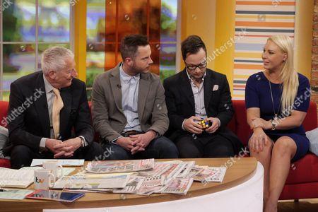 Nick Hewer, Neil Clough, Jordan Poulton and Francesca MacDuff-Varley