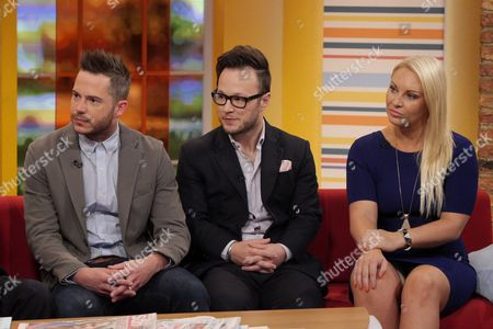Neil Clough, Jordan Poulton and Francesca MacDuff-Varley