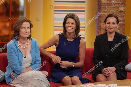 Charlotte Cory, Liz Fraser and Amanda McAlister