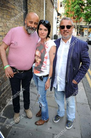 Richard Young, Sue Webster and Hamish McAlpine