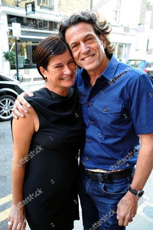 Stock Image of Miranda Davis and Stephen Webster