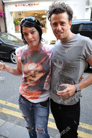 Sue Webster and Hamish Jenkinson