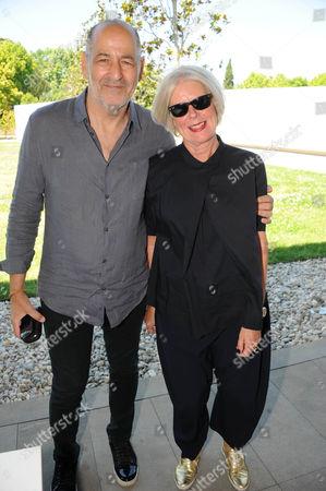 Betty Jackson and husband David Jackson