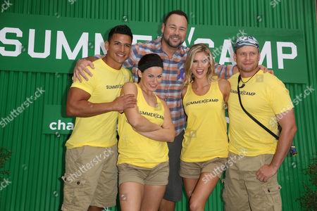 Moises Ramos, Michelle Schexnayder, Matt Rogers, Brooke Mangum, Justin Jackson