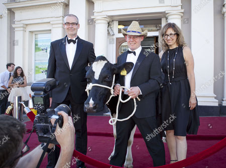 Editorial picture of 'The Moo Man' film premiere, Hailsham, East Sussex, Britain - 09 Jul 2013