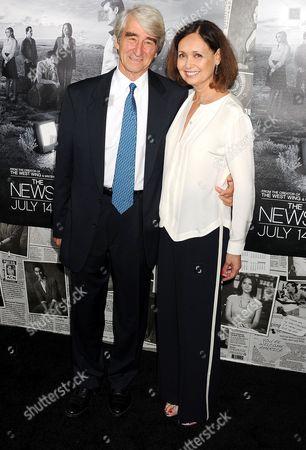 Sam Waterson and Lynn Louisa Woodruff