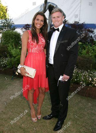 Stock Photo of Chris Ashton and Melissa Ashton