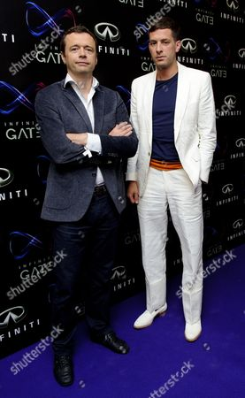 Editorial photo of 'Infiniti Gate' event at The London Film Museum, London, Britain - 11 Jul 2013
