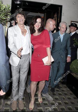 Editorial photo of Celebrities at Scotts restaurant, London, Britain - 11 Jul 2013