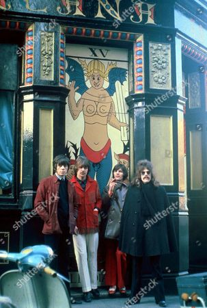 The Move - Bev Bevan, Carl Wayne Rick Price and Roy Wood