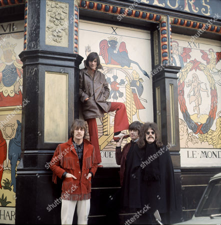 The Move - Carl Wayne, Rick Price, Bev Bevan and Roy Wood