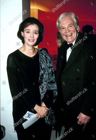 CHERIE BLAIR AND FATHER Antony Booth