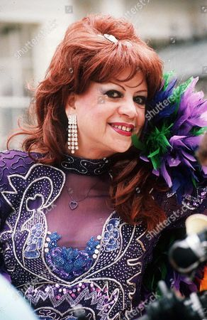 Editorial picture of MARGARITA PRACATAN FILMING VIDEO IN LONDON, BRITAIN - 1996