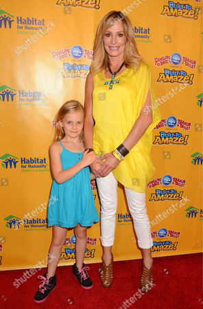 Stock Photo of Kennedy Armstrong, Taylor Armstrong
