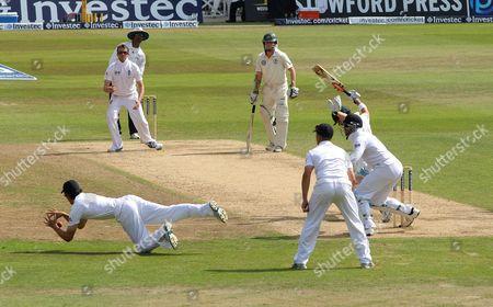 Editorial image of England v Australia, 1st Ashes test cricket match, Trent Bridge, Nottingham, Britain - 13 Jul 2013