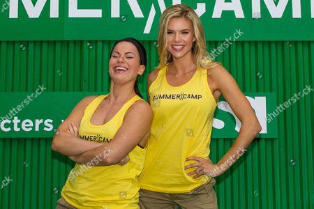Michelle Schexnayder and Brooke Mangum