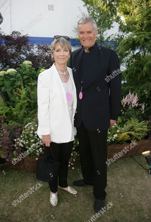 Lucy Fleming & Husband Simon Williams