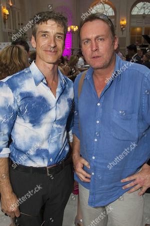 Richard Trinder and Philip Glenister