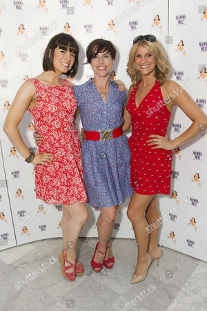 Stock Picture of Heather Scott-Martin (Swing), Helen Siveter (Swing/Dance Captain) and Katy Osborne (Swing)