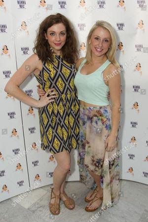 Editorial photo of 'Mamma Mia' musical cast change tea party at The Waldorf Hilton, London, Britain - 13 Jul 2013