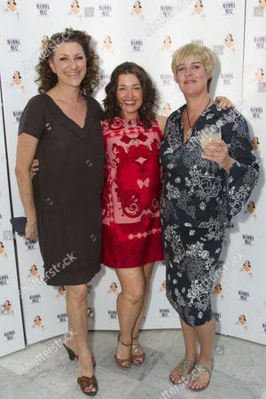 Kim Ismay, Dianne Pilkington and Jane Milligan