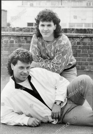Stock Photo of Pop Duo 'tiers Opera' - Tolga Kashif And Mark Wade.
