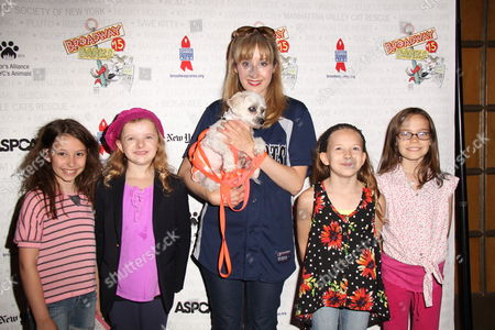 Editorial picture of Broadway Barks 15th Annual Adoption Event, New York, America - 13 Jul 2013