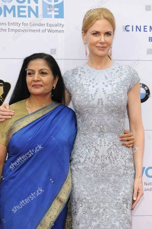 Editorial image of Cinema for Peace UN Women honorary dinner, Berlin, Germany - 12 Jul 2013