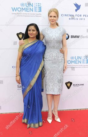 Stock Photo of Lakshmi Puri and Nicole Kidman