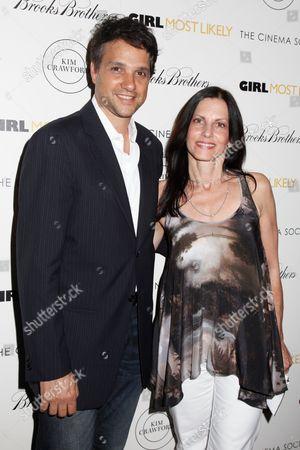 Stock Image of Ralph Macchio and Phyllis Fierro