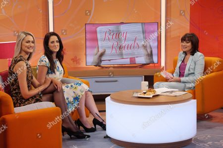 Victoria Cox and Anouska Knight with Presenter Lorraine Kelly