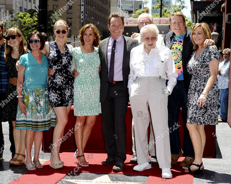Editorial image of Bryan Cranston honoured with Star on the Hollywood Walk of Fame, Los Angeles, America - 16 Jul 2013