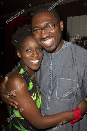 Sharon Duncan-Brewster and Kwame Kwei-Armah