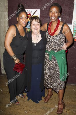 Jocelyn Jee Esien, Kathy Burke and Noma Dumezweni