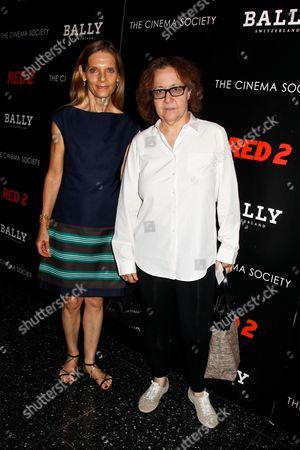 Sandra Brant and Ingrid Sischy
