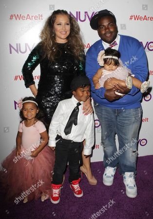 Rodney Jerkins, Joy Enriquez and Family