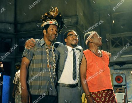 Brian Bovell as Bakongo Tribesman, Chiwetel Ejiofor as Patrice Lumumba, Joseph Mydell as Kala Lubu