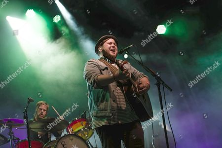 Editorial picture of Of Monsters and Men in concert, Somerset House, London, Britain - 16 Jul 2013