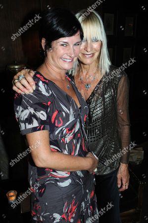 Stock Picture of Miranda Davis and Virginia Bates