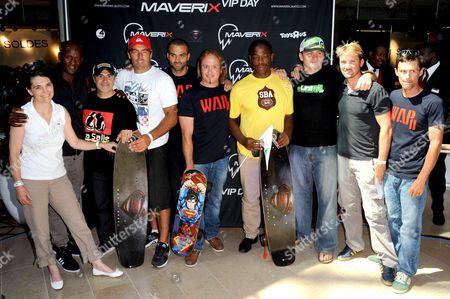 Editorial image of Skates Electriques Maverix 'Maverix Vip Days' event, Paris. France - 17 Jul 2013