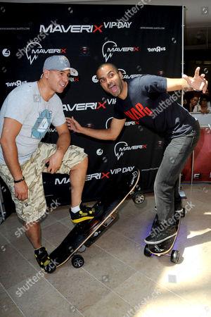 DJ Cut Killer and Tony Parker