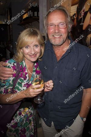 Stock Photo of Natalie Francis and Clive Francis