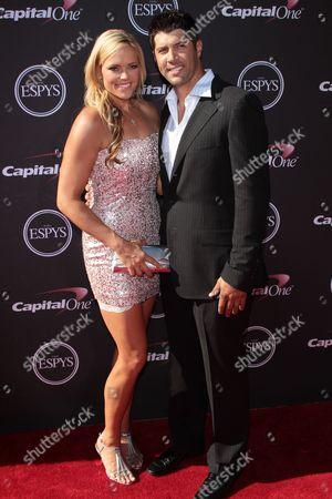 Jennie Finch with husband Casey Daigle